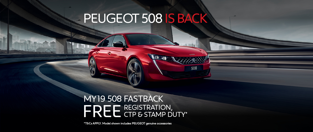 Peugeot 508 is Back March