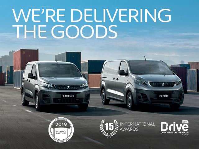 ALL-NEW PARTNER VAN & EXPERT VAN OFFERS